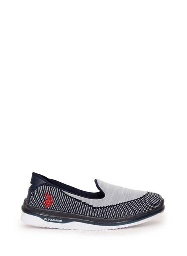 U.S.Polo Assn. Ayakkabı Gri